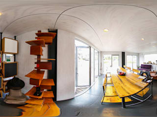 バーチャルモデルハウス【コンテナハウス】: 株式会社テラデザインが手掛けたです。