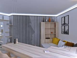Salas de estilo escandinavo de BMM Escandinavo