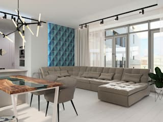 Center of interior design Living room