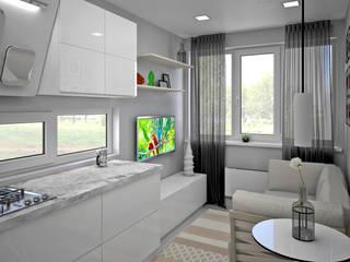 Salas de estilo minimalista de BMM Minimalista