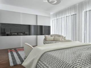 Projecto 3D: Quartos  por MY STUDIO HOME - Design de Interiores