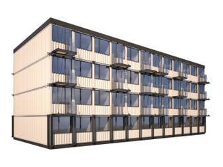 Casas de estilo industrial de BMM Industrial
