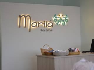 Marilá by Rinnovo: Oficinas y Comercios de estilo  por Rinnovo