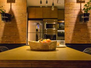 cozinha:  industrial por ELEVO ARQUITETURA,Industrial
