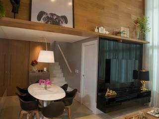 Apartamento JL Salas de jantar modernas por Dome arquitetura Moderno
