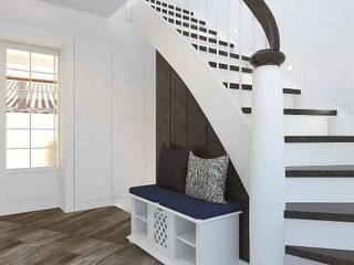 Dom w Essen: styl , w kategorii Korytarz, przedpokój zaprojektowany przez Interior Idea Projektowanie Wnętrz