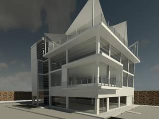 TORRE SALAMANCA: Gimnasios de estilo moderno por IGAC Ingeniería Geotécnica Arquitectura y Construcción