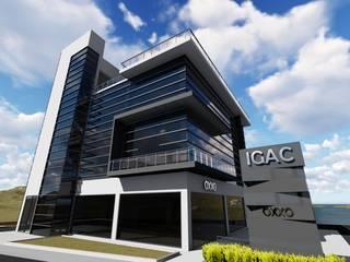 TORRE SALAMANCA: Terrazas de estilo  por IGAC Ingeniería Geotécnica Arquitectura y Construcción