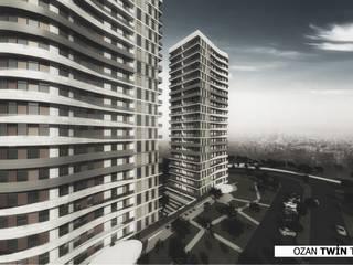 OZAN TWİN TOWERS Neon Mimarlık Minimalist