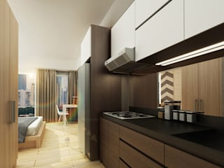 Alliz Apartment:  Dapur built in by Getto_id