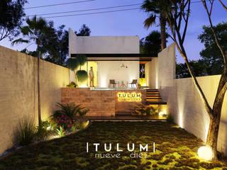 T U L U M   9 1 O: Bungalows de estilo  por URBN ARQ STUDIO