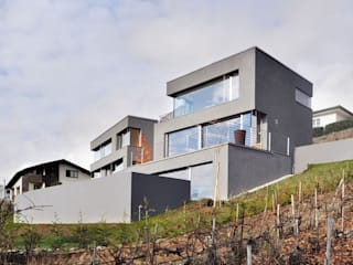 Maison en Terrasses par François MEYER ARCHITECTURE Moderne