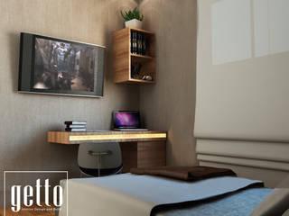 Getto_idが手掛けた寝室