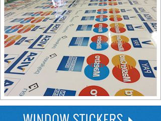 Window Stickers  with waterproof Online :  Basement windows by Bade Newby Display