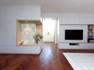 Modern living room by SIMONE JÜSCHKE INNEN|ARCHITEKTUR Modern