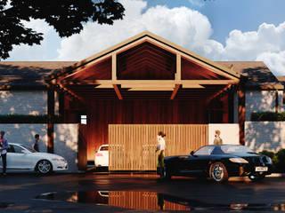 Частный жилой дом в Камышевахе: Загородные дома в . Автор – Архитектурная студия Чадо