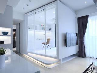 Moderne Schlafzimmer von 瓦悅設計有限公司 Modern