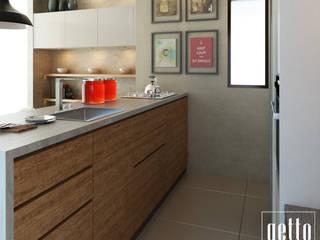 Cuisine intégrée de style  par Getto_id,