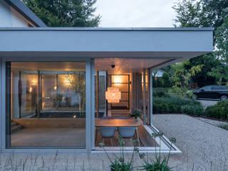 Bloot Architecture Minimalistische Arbeitszimmer Beton Grau