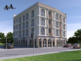 alfa mimarlık – Orhan Kaya:  tarz Apartman