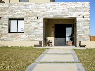 Casa 205 Casas eclécticas de Papillon Arquitectura Ecléctico