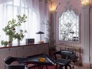 Salas / recibidores de estilo moderno por Germán Velasco Arquitectos