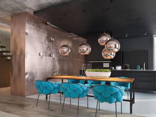 Дизайн гостиной: Гостиная в . Автор – Zooi
