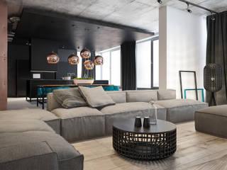 Уютная гостиная: Гостиная в . Автор – Zooi