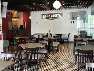 Loncheria : Restaurantes de estilo  por Dinterk1