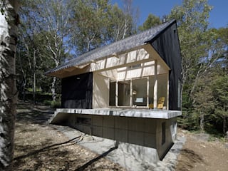 Jardin d'hiver de style  par 桑原茂建築設計事務所 / Shigeru Kuwahara Architects, Scandinave
