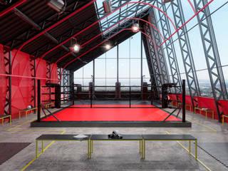 Геометрия крыши: Стадионы в . Автор – Zooi