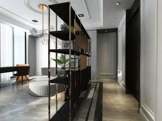 Taichung L House:  書房/辦公室 by 質覺制作設計有限公司
