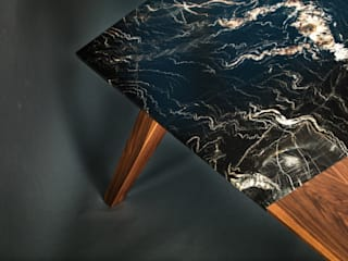 granite&wood table:   von cy architecture