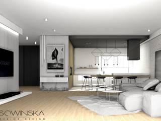 APARTAMENT KATOWICE: styl , w kategorii  zaprojektowany przez EDYTA SOWIŃSKA INTERIOR DESIGN
