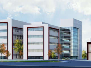 A.K.Ü. ONKOLOJİ HASTANESİ Modern Hastaneler Neon Mimarlık Modern