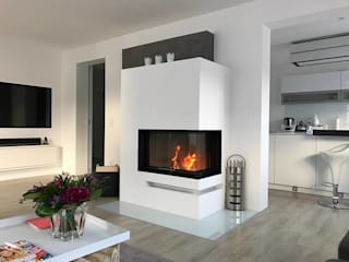 Salon moderne par Home of Fire Moderne