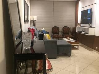 Arquitetura de Interiores - Living : Salas de estar  por Fabiana Raffaine Villegas Arquitetura e Interiores,Moderno