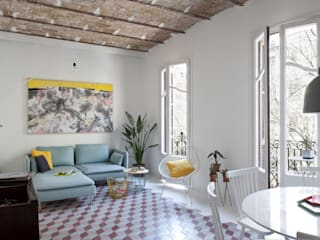 nghệ nhân & không gian kiến trúc:  Phòng khách by Nghệ nhân Kiến trúc thủ công