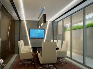 Modern office interior design in Dubai by Spazio Interior Decoration LLC Modern