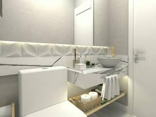 Baños de estilo moderno de Letícia Saldanha Arquitetura Moderno