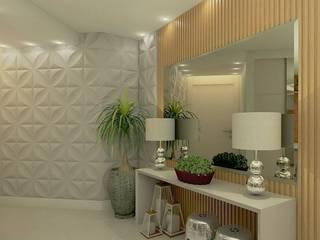 Livings de estilo moderno de Letícia Saldanha Arquitetura Moderno