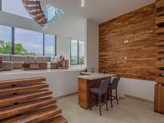 Living room by ECKEN virtual spaces, Modern