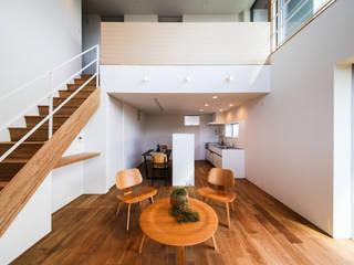 STaD(株式会社鈴木貴博建築設計事務所) Minimalist living room