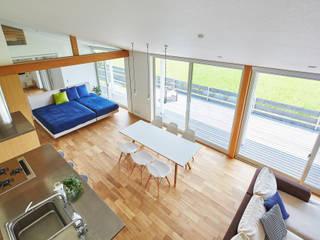 ห้องนั่งเล่น by 梶浦博昭環境建築設計事務所
