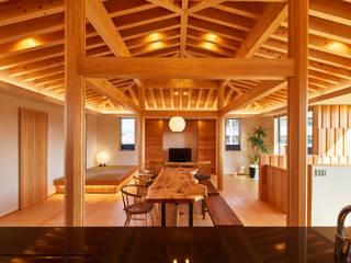 桑原木材の家 オリジナルデザインの リビング の 梶浦博昭環境建築設計事務所 オリジナル
