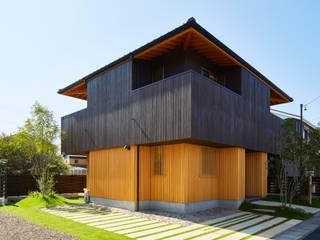 桑原木材の家: 梶浦博昭環境建築設計事務所が手掛けた家です。