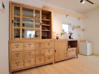 85inc. Kitchen units Wood Wood effect