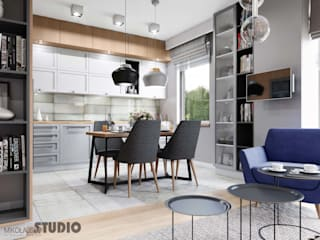 MIKOŁAJSKAstudio Industrial style kitchen