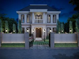 บ้านพระราม 9 (ออกแบบภายนอกและภายใน):   by I2D Studio