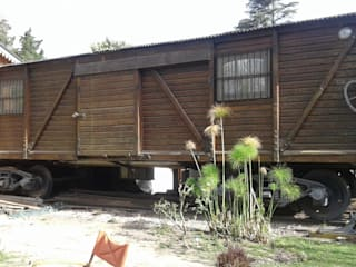 ECOS INGENIERIA Country house Wood effect